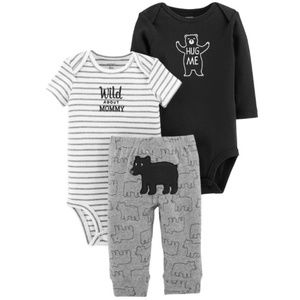 NWT Carter's Baby Boy 3-Piece Little Character Set